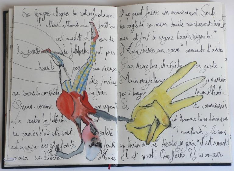 Cent têtes - Cahier II - Extrait 3