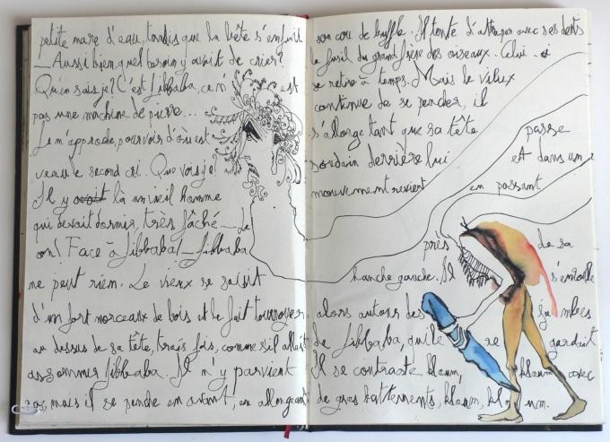 Cent têtes - Cahier II - Extrait 4