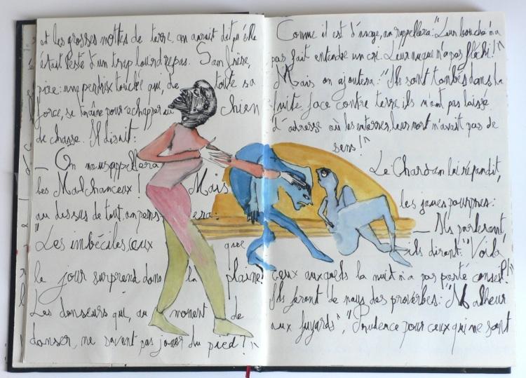 Cent têtes - Cahier II - Extrait 6