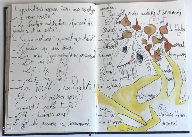 Cent têtes - Cahier II - Extrait2